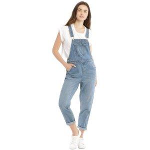 Miss Shop牛仔背带裤