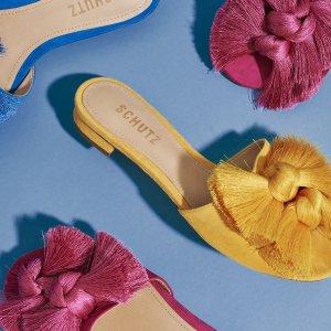 额外7.5折Schutz 美鞋季末大促 折扣区折上折