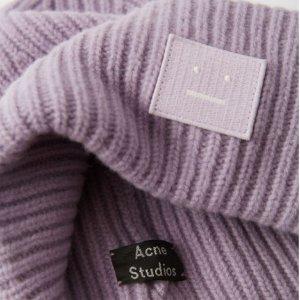 8折包税 笑脸帽$166最后一天:Acne Studios 惊喜好价 粉色T恤$136 卫衣$256