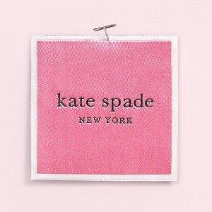 低至4折+额外8折 £23收烈焰红唇耳钉Kate Spade 饰品热促中 收星座项链、火烈鸟手表、水钻耳钉