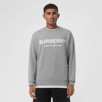 Burberry logo卫衣