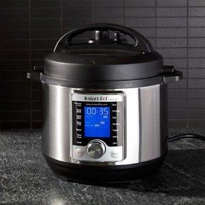 $159.95(原价$320)Instant Pot Ultra 8 Qt 10合1多用途可编程高压锅