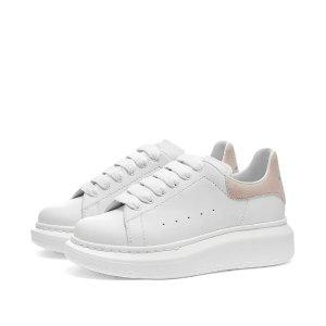 Alexander McQueen大童款小白鞋