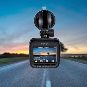$47AUKEY DR01 1080P 170° Night Vision Dash Cam