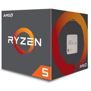 $99.99 (原价$189)AMD Ryzen 5 1600 3.6GHz 6核 CPU