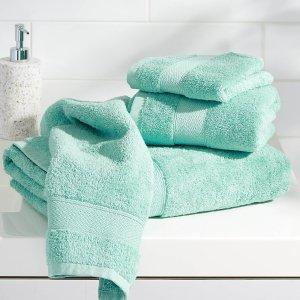 $4.99收纯棉毛巾Simons 清新毛巾浴巾 纯棉也要有讲究 成分党必收选棉攻略