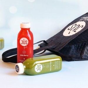 $90+包邮 额外送限量手提袋Jus By Julie 3日蔬果汁套餐黑五预热优惠 回归轻盈体态
