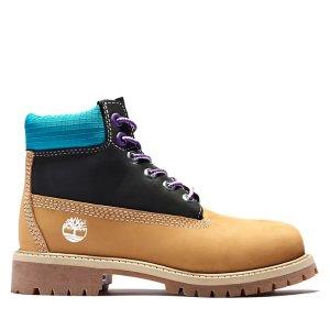 Timberland大童款登山靴