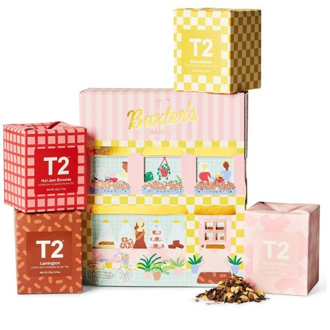 $19(原价$40)T2 复活节茶叶礼盒 经典口味一盒搞定