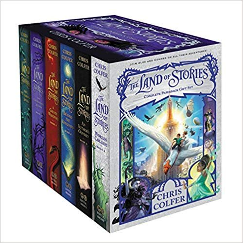 The Land of Stories 6本套装