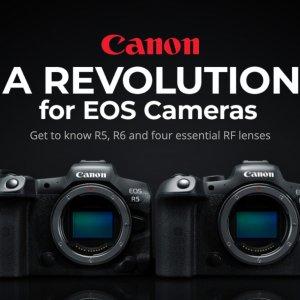 EOS R6预购 $4499起上新:Canon EOS R5 全画幅无反相机 8K30 Raw 预购 $6999起