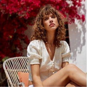 低至4折 £118收白色不对称长裙折扣升级:The Kooples 法国新晋潮牌年中大促开启