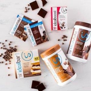 5折 吃不胖的小秘密IdealShape官网 减肥瘦身代餐奶昔、运动营养品促销