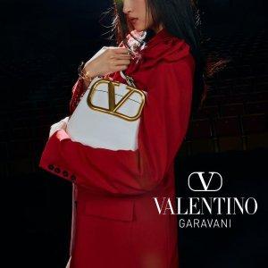 3折起 羊毛修身西装裤€160Valentino华伦天奴大促 抄底价收经典铆钉系列美鞋、包包等