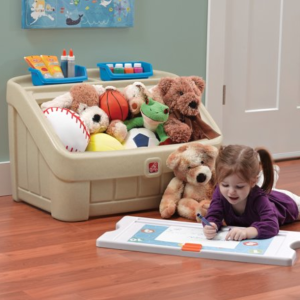 As Low As $35.99Step2 2-in-1 Kids Toy Box and Art Lid