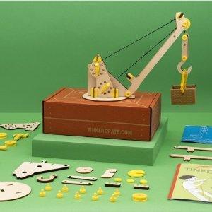 低至7.6折+低至额外7折  0-16+分年龄手工礼盒上新:Kiwico 儿童手工礼盒无需订阅 玩中激发对科学原理的探索