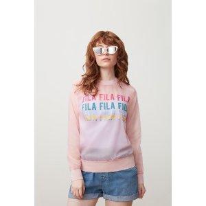 Filasol sheer woven sweatshirt