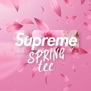 本周四发售 7款可选预告:Supreme SS21 Week8 春季限定T恤来袭 亮色扮靓春夏