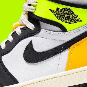 """定价$230 预计1月16日发售新品预告:Nike AJ 1 """"黄黑脚趾2.0"""" 今年第一双,即将上线"""