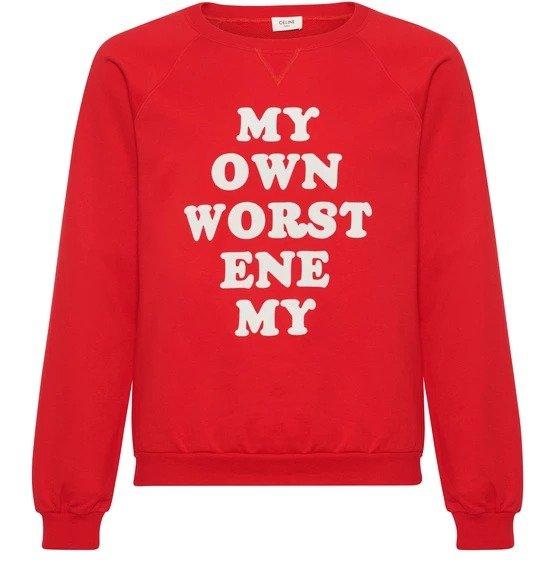 Enemy sweatshirt David Kramer 卫衣