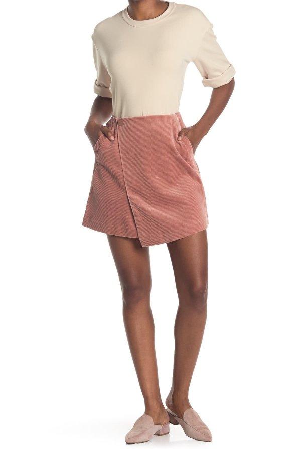 Corduroy Mini 半身裙