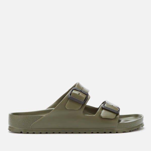 男士墨绿色拖鞋