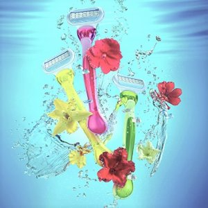 $3.62Gillette Venus Women's 3 Blade Disposable Razor Tropical, 3 Count