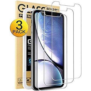 $1.05MKeke iPhone XR 手机钢化膜3张
