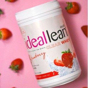 草莓口味IdealFit 水果味乳清蛋白粉20份