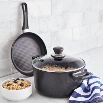 $99 Scanpan Classic 60th Anniversary 3-Piece Cookware Set - Dealmoon