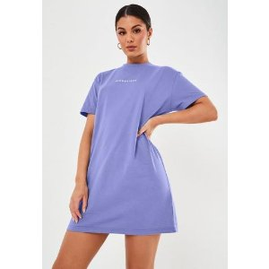 Missguided紫色T恤