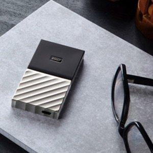 WD 512GB My Passport USB-C 移动固态硬盘