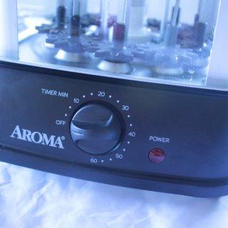 我的烧烤我做主!Aroma不锈钢自动旋转家用烤串机
