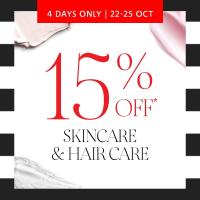 Vogue购物夜:Sephora 护肤、美发产品限时促销