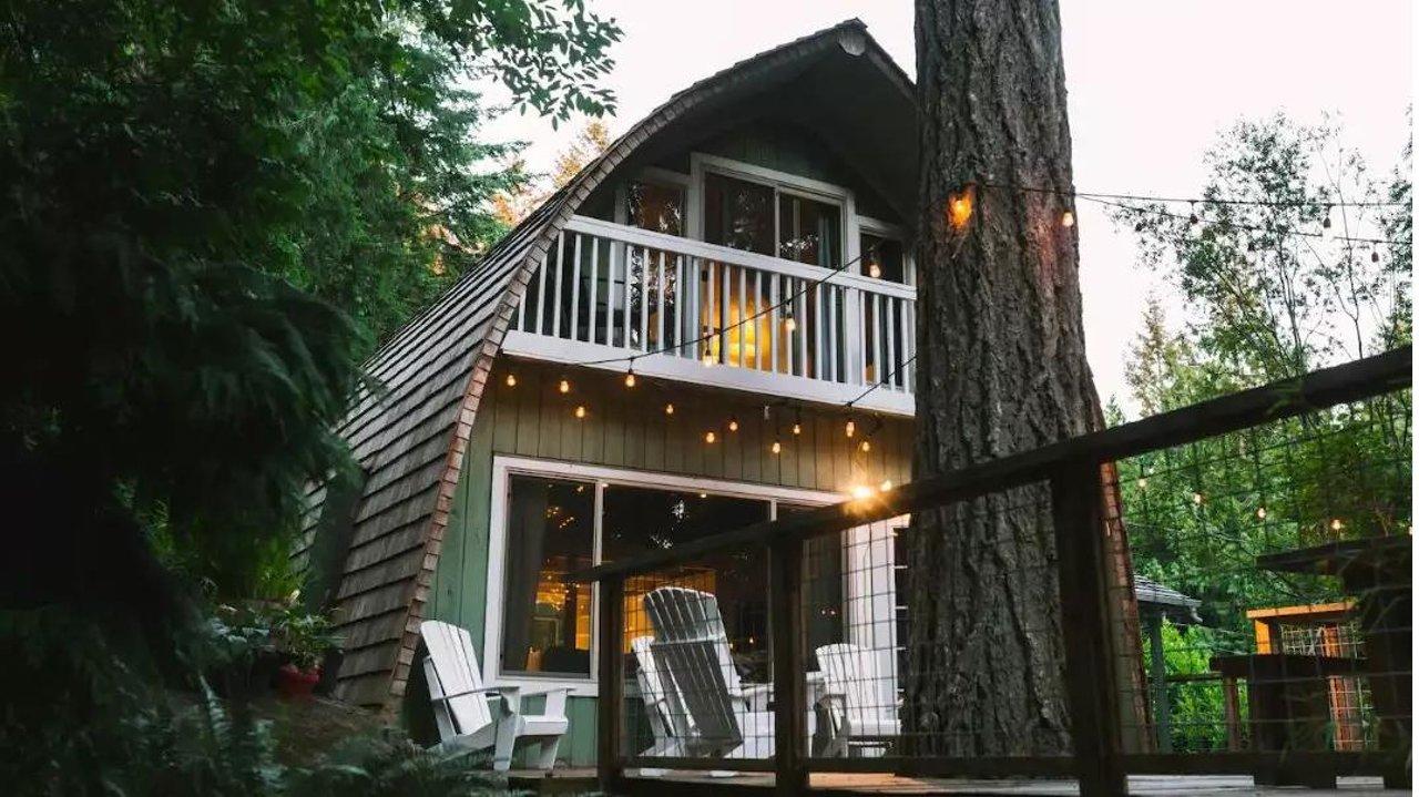 温哥华周边5个高性价比小木屋,带你住进宫崎骏的童话世界!