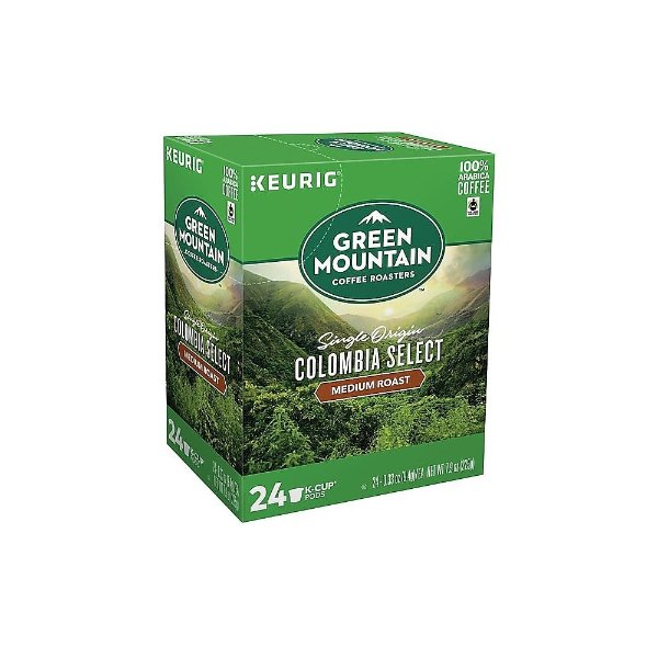 Green Mountain 哥伦比亚中焙K-Cup 咖啡胶囊 24颗