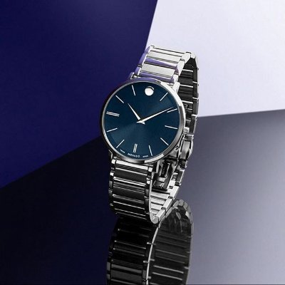 63% off + Extra $10 OffDealmoon Exclusive: MOVADO Stratus Quartz Blue Dial Men's Watch