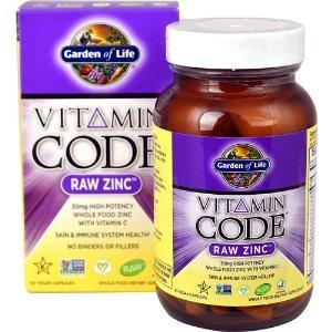 Garden of LifeGarden of Life Vitamin Code® RAW Zinc™ -- 60 Vegan Capsules