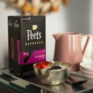 $39.99Peet's Coffee Nespresso Compatible Aluminum Capsules, 80ct