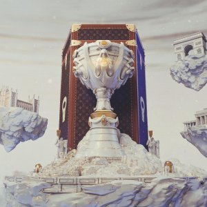 LV 亮相全球总决赛现场《英雄联盟》 X Louis Vuitton 合作官宣 冠军皮肤有看点