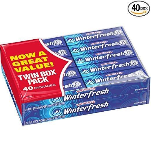 Winterfresh 口香糖 40条