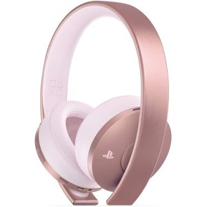 Gold Wireless Headset Rose Gold - PlayStation