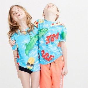 2件$15 或 $20abercrombie kids 精选儿童T恤热卖,包括变色款
