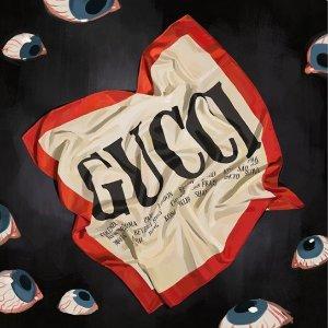仅网上发售 高大上断货节奏上新:Gucci Hallucination Collection 限量款热卖