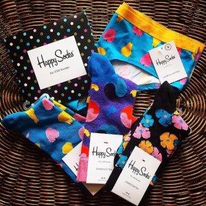 低至6折Happy Socks官网 袜子热卖