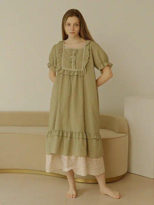 Ullala Pajamas[SET] 短袖睡衣+吊带睡衣2件套