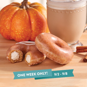 For One Week ONLYPumpkin Spice Donuts are Back