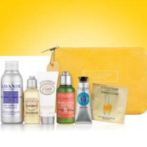 满额送明星产品礼包L'occitane 全场护肤产品热卖
