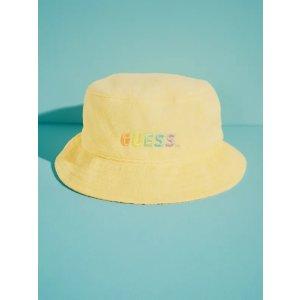 Guessx FriendsWithYou Sun Logo Bucket Hat |