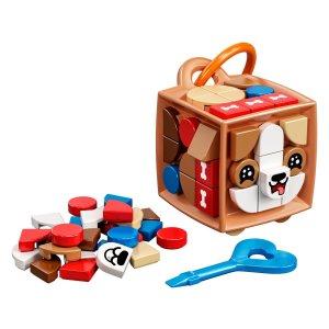 Lego狗狗造型包挂 41927   DOTS
